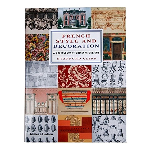 Garaj Kitap French Style and Decoration: A Sourcebook of Original Designs Renkli